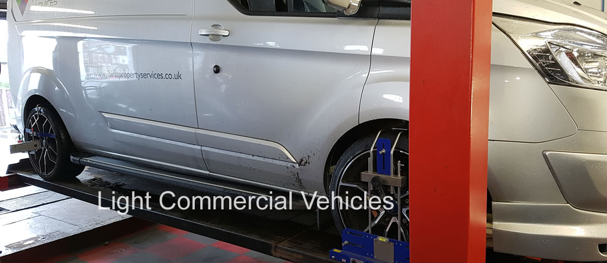 Servicing of light commercial vehicles